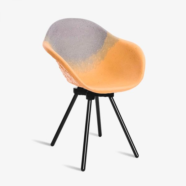 chaise gravene atelier maximum mandarine