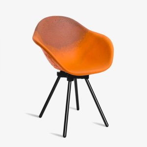 chaise gravene atelier maximum orange