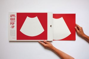 applique murale d'angle well well designer rouge
