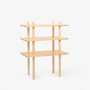 alphee grand etagere screw bois erable buis contemporain
