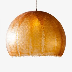 club 418 suspension sunset luminaire fibre de verre resine recycle