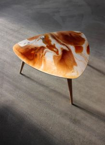 club 418 table basse resine mousse surf mobilier